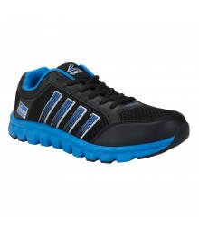 Vostro B191 Black Royal Blue Men Sports Shoes VSS0246